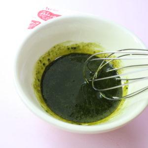 抹茶ソース レシピ