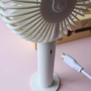 ダイソー 扇風機 usb