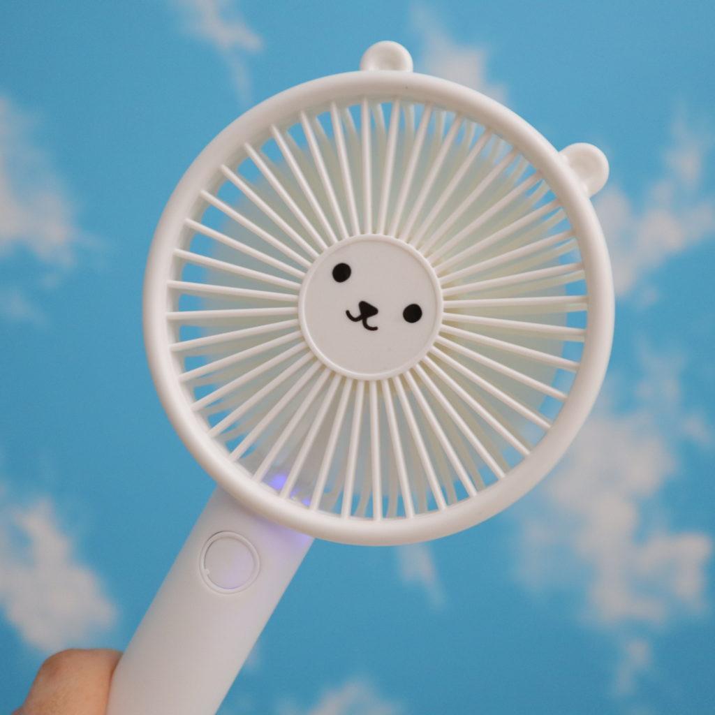 ハンディ扇風機 ダイソー