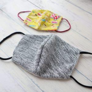 大人用 立体マスク 作り方 手縫い