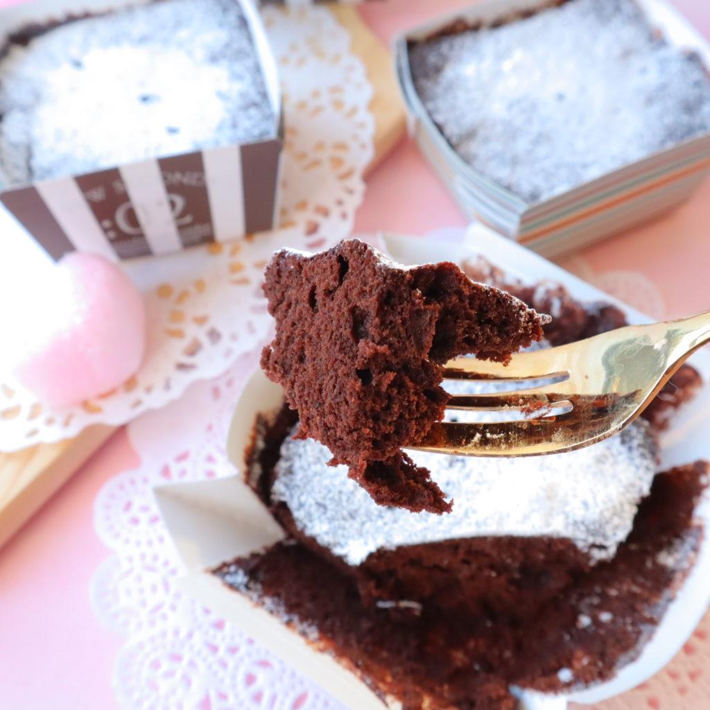 ガト―ショコラ 簡単 レンジ
