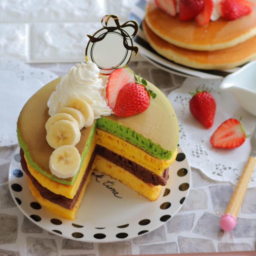 パンケーキ 作り方 ふわふわ