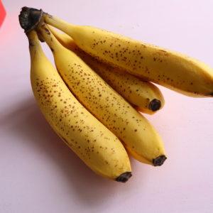 バナナジュースの作り方ミキサー