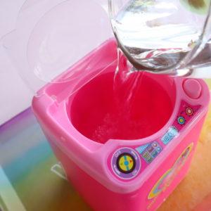 ダイソー 洗濯機オモチャ