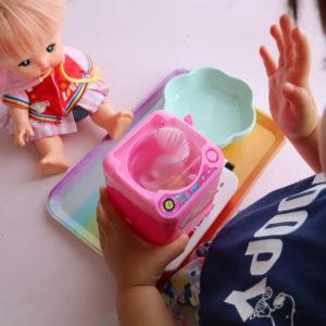 ダイソー 洗濯機 おもちゃ
