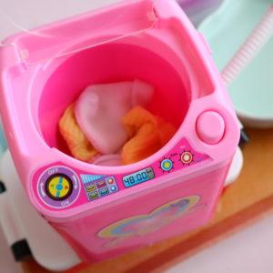 ダイソー 洗濯機 パフ