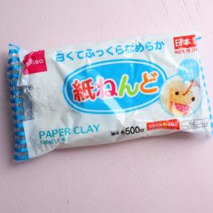 ダイソー 紙粘土