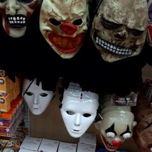 ダイソー 仮装 マスク