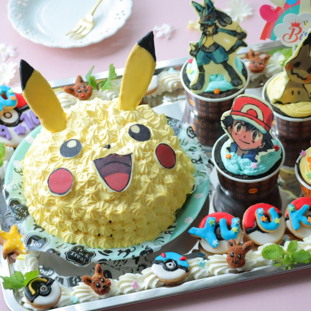 ピカチュウ ケーキ 手作り