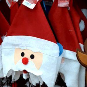 ダイソー サンタ 帽子