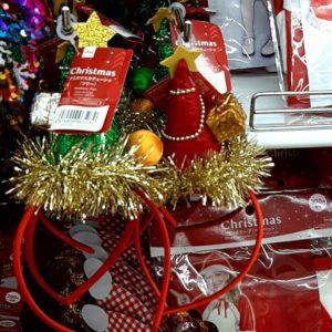 クリスマス カチューシャ 100均