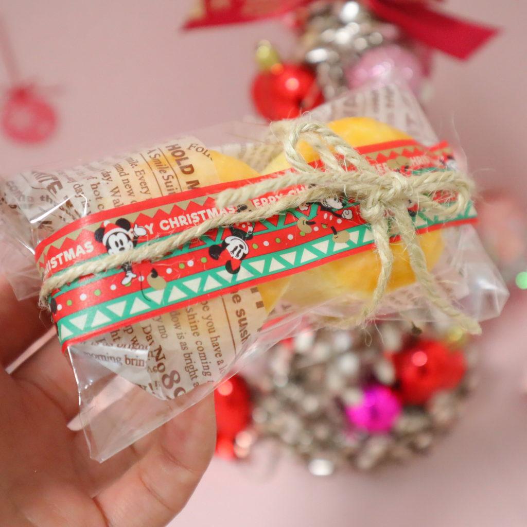 クリスマス お菓子 ラッピング