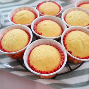 ホットケーキミックスで作るカップケーキ
