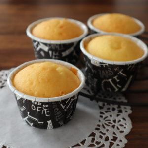 ホットケーキミックスでカップケーキ