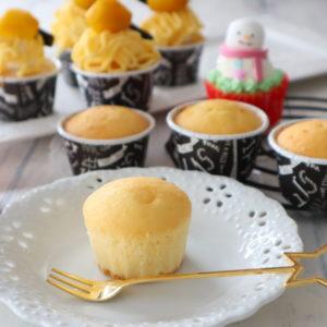ホットケーキミックス カップケーキ