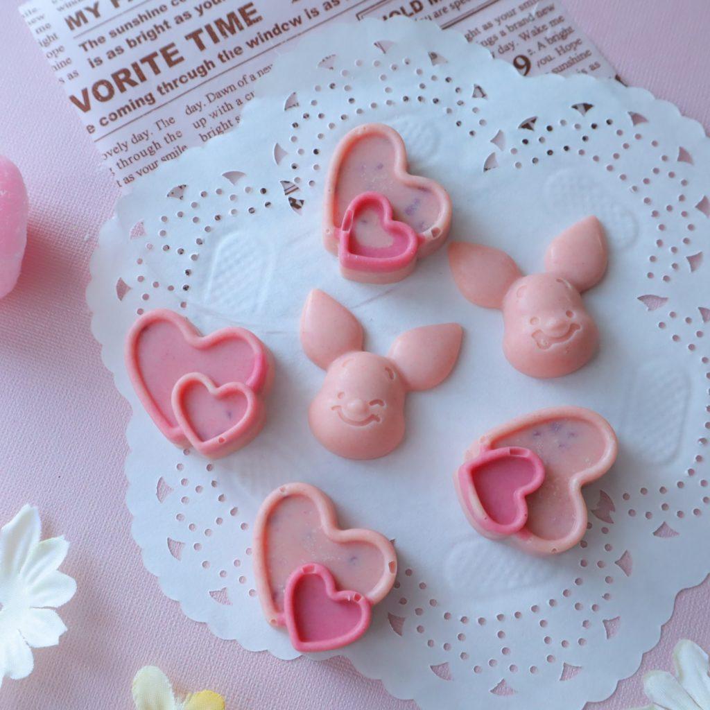 ピンク チョコレート