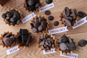 製菓用チョコレート 味