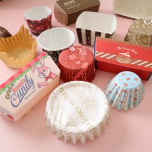 セリア ケーキ紙型