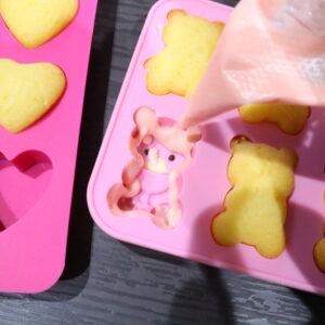 シリコン型 ホットケーキミックス レシピ