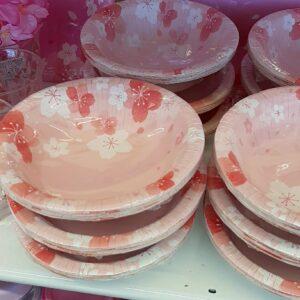 ダイソー 桜 紙皿