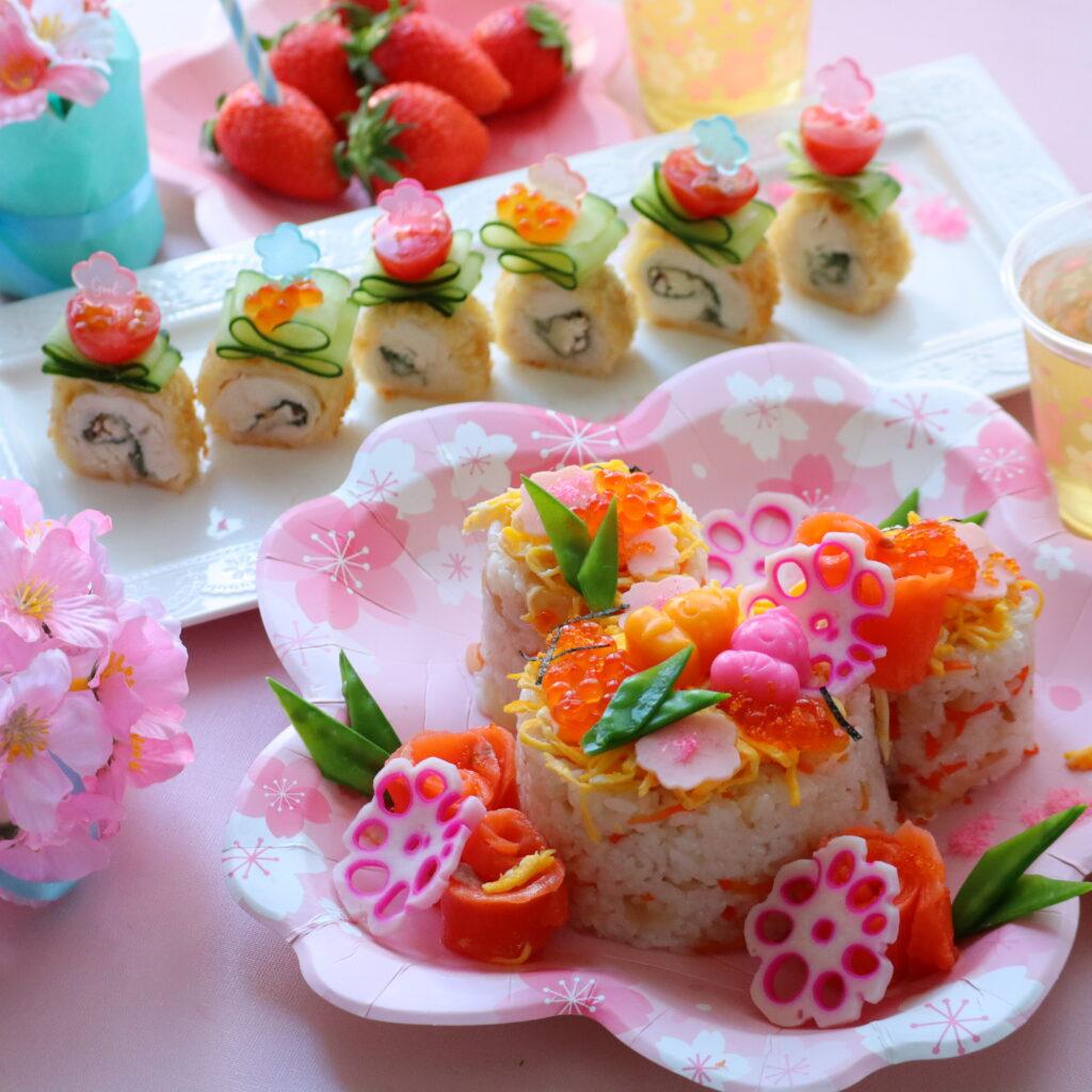 ひな祭り パーティー 料理
