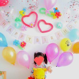 誕生日飾りつけ 風船