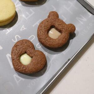 チョコサンドクッキー レシピ