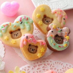ダイソー クッキー型 くま