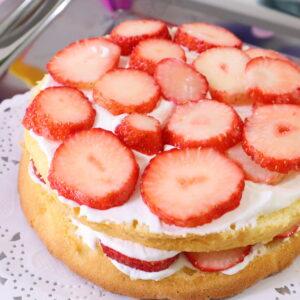 苺のケーキ 誕生日