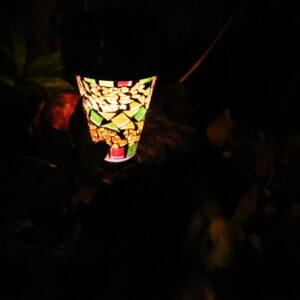 ダイソー ガーデンライト 300円