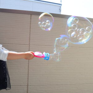 ダイソー バブルインバブル シャボン玉
