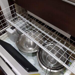 キッチン 収納 100均 突っ張り棒