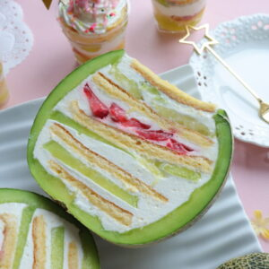 丸ごとメロンケーキ 作り方