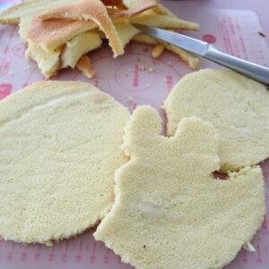 キャラクターケーキ 手作り