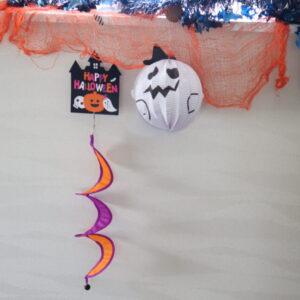 ハロウィン 壁面 装飾