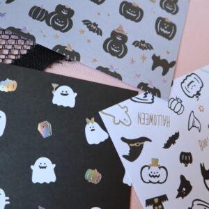 ハロウィン 折り紙 セリア