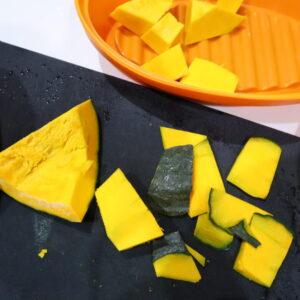 カボチャチーズケーキレシピ