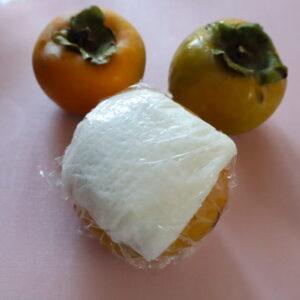 柿 保存 ラップ