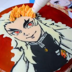 きめつのやいば ケーキ 手作り